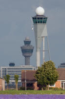 Schiphol flower tower towers