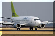 YL-BBQ Air Baltic Boeing 737-500