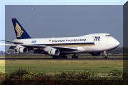 9V-SFG Boeing 747 Singapore airlines