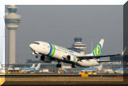 PH-HZL transavia new colours with winglets